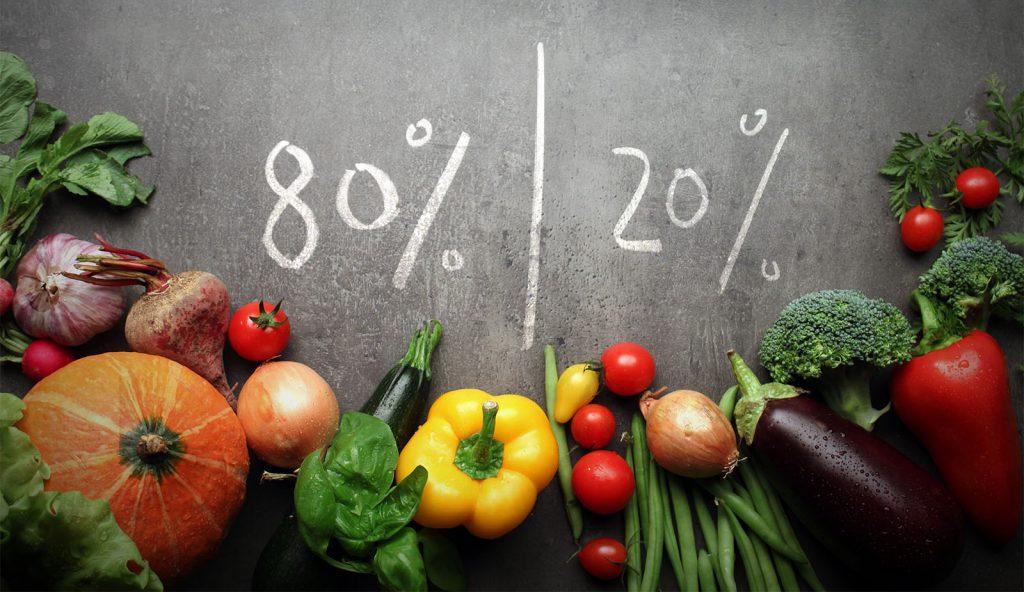 رژیم غذایی 20-80