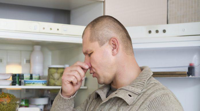 بوی بد یخچال