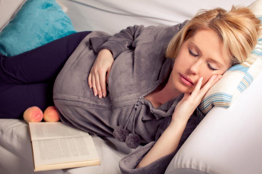 پوزیشن خواب مادران باردار