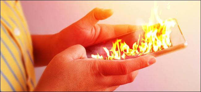 دلایل داغ شدن تلفن همراه