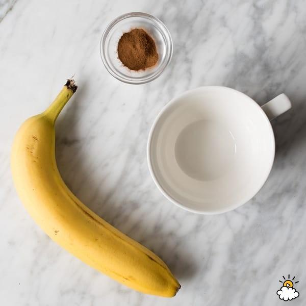 طرز تهیه چای موز و دارچین