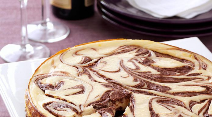 طرز تهیه چیز کیک شکلاتی در خانه