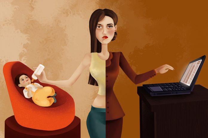 زنان-شاغل-و-خانه-دار