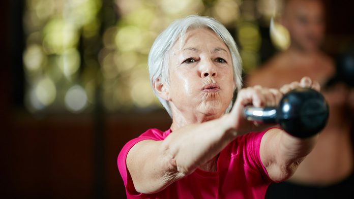 Weight loss after menopause