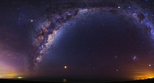 90 درصد کهکشان نامرئی است