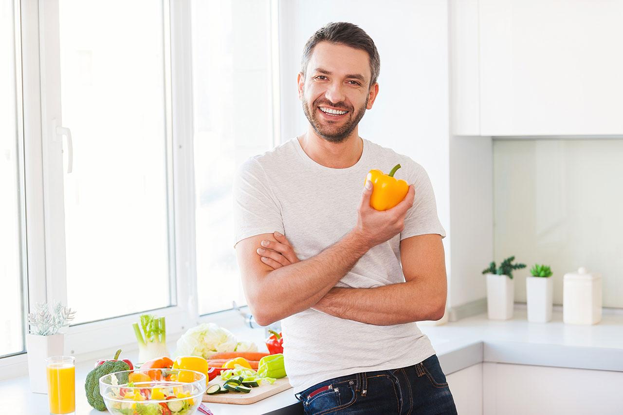 تصویر از 5 تغییری که بعد از 40 سالگی باید در رژیم غذاییتان ایجاد کنید
