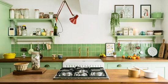 تصویر از تغییر رنگ آشپزخانه با ایدههای وسوسهانگیز