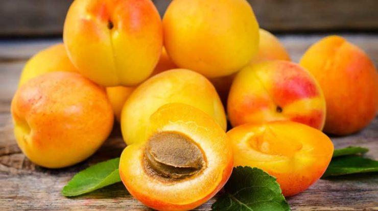 تصویر از ارزش غذایی زردآلو
