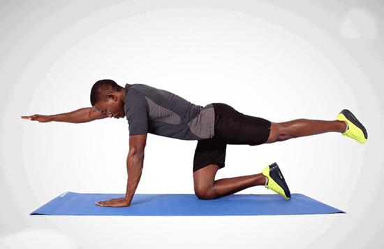 ۶ تمرین تقویتکنندهی عضلات کمر