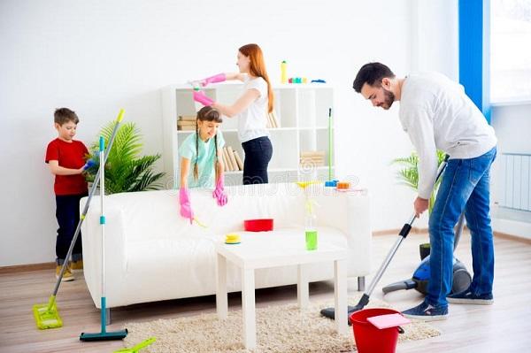 تصویر از رازهایی برای نظافت اتاق کودک