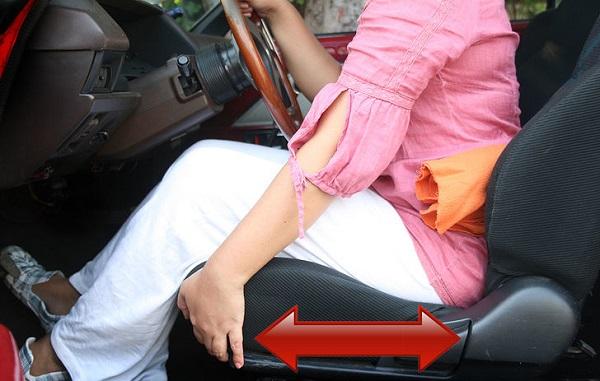 تصویر از نشستن صحیح در اتومبیل و جلوگیری از ابتلا به کمر درد