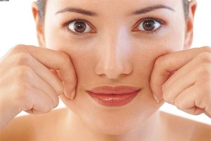 تصویر از روشهای خانگی برای برای چاق شدن صورت