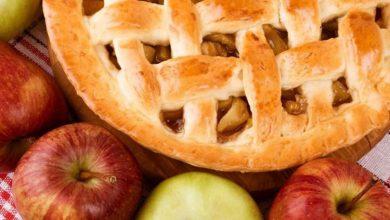 تصویر از طرز تهیه یک پای سیب کم کالری و خوشمزه