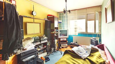 تصویر از اگر خانه کوچک دارید، با نور و رنگ بزرگش کنید!