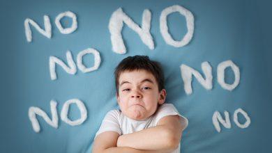 تصویر از مهارت نه گفتن را به کودکان بیاموزید