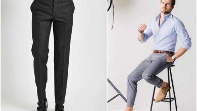 تصویر از انتخاب شلوار مناسب برای آقایان قدبلند